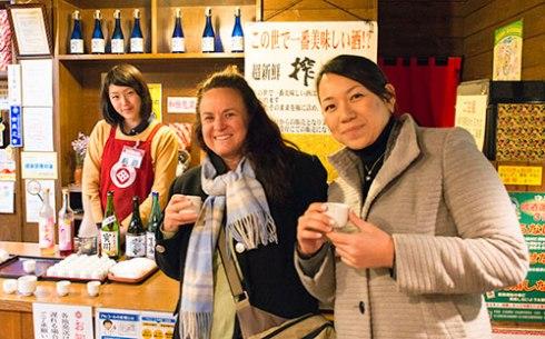 saki-tasting